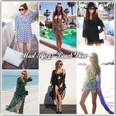 Must have!  Beach wear   REF: #Styling #Summer #Outfit #BeachWear Glamouricons1.wordpress.com