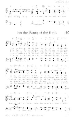 Worship and Rejoice 40. For the beauty of the earth - Hymnary.org
