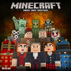 Doctor Who skin pack now available for Minecraft on Xbox
