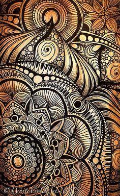 Sunday Afternoon Mandala | Cindy Belseth / White Violet Art via Flickr
