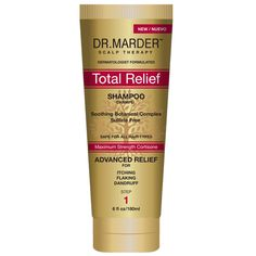 Scalp Therapy Total Relief Shampoo Soothing Botanical Complex Sulfate Free
