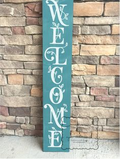 Welcome sign spring welcome sign front porch sign welcome sign for front porch front door sign welcome entryway sign welcome Welcome Signs Front Door, Wooden Welcome Signs, Front Porch Signs, Wooden Signs, Welcome Boards, Outdoor Welcome Sign, Sign Boards, Rustic Signs, Painted Signs