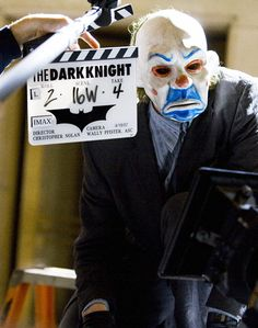 Behind the Scenes Images From the Set of the Batman Trilogy
