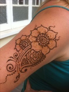 Henna tattoo that I would like to do for real. Henna, Tattoos, Tatuajes, Tattoo, Hennas, Tattos, Tattoo Designs
