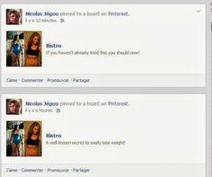 Le compte Pinterest de Partageons l'Addiction a été hacké.