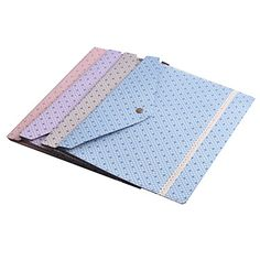 MiniInTheBox = Lace Dot bolso Arquivo (cor aleatória) – USD $ 5.49