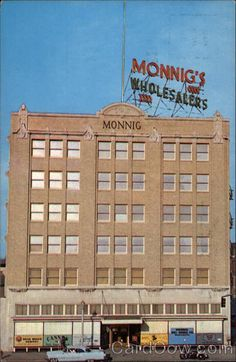 Monnig's downtown Fort Worth - lots of memories there. My Aunt Nellie worked in the Girl's Department.  She used to get me the CUTEST clothes!