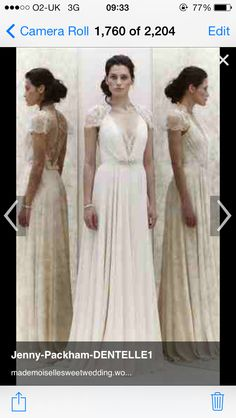 Adore this dress by Jenny Packham