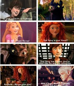 Is it bad that I love the antagonism between Merida and Jack? Because it is just so entertaining.