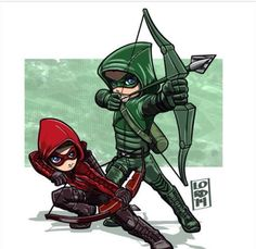 So this is for the Arrow lovers! Arrow and Arsenal :) x The Arrow, Arrow Art, Green Arrow, Heroes Dc Comics, Marvel Dc Comics, Batman Robin, Gotham, Lord Mesa Art, Arrow Dc Comics