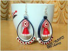 Resultado de imagen de quilled earrings