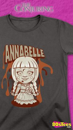 Womens Animated Annabelle Conjuring Shirt Officially Licensed Conjuring Women's T-shirt Lorraine Warren, List Of Countries, Cute Tshirts, Everyone Knows, The Conjuring, Nurses, Brand You, Animation, Fan