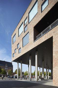 Frederiksbjerg School by Henning Larsen Architects in Aarhus, Denmark