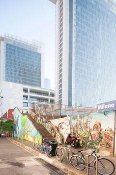 Un murale al quartiere Isola, a Milano.