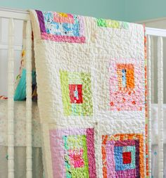 Love the scrappiness and the quilting