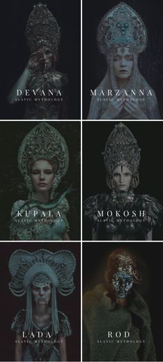major slavic gods and goddesses | devana / marzanna / kupala / mokosh / lada / rod