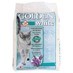 Golden White Cat Litter 14kg with Lavender Fragrance for Good Air