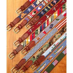 True story: this many needlepoint belts would take your girlfriend almost 43 years to complete...and you would be single long before that. @smathersandbranson is here to save your relationship.  #SmathersAndBranson #preppy #needlepoint