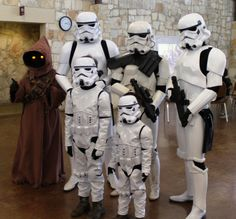 Storm Troopers From May 4th Star Wars Party