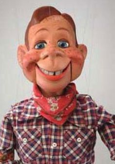 Picture of ventriloquist's dummy Howdy Doody