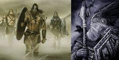 Los Guerreros de Odíneran guerreros letales capaces delanzar batallas con una gran furia, también llamados berserker o guerreros de Odín, despiadados a la hora de enfrentarse en el campo de batalla, lo más parecido.