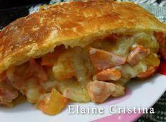 Pão de Salsicha e Requeijão | Culinária-Receitas - Mauro Rebelo