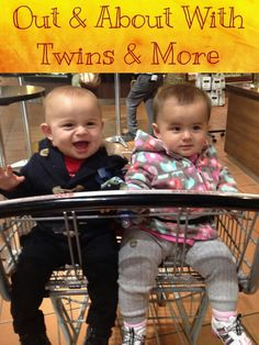 Get out and about with your twins with these quick tips!
