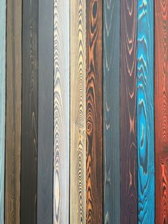SHOU SUGI BAN colors charred wood