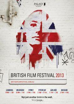 Film Festival Posters: British Film Festival Australia