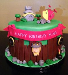 Awesome pictures of clash of clans : what does clash of clans cake look like? 2