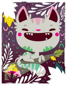 Kali Meadows--reminds me of cheshire cat