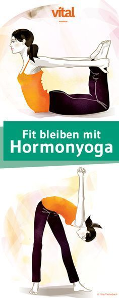 With Hormone-Yoga you stay young and fit. We have four two-piece Ü … - Fitness Workout Yin Yoga, Yoga Meditation, Hormon Yoga, Ashtanga Yoga, Vinyasa Yoga, Iyengar Yoga, Fitness Workouts, Yoga Fitness, Sport Fitness