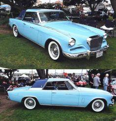 1962 Studebaker Hawk Gran Turismo in a LOVELY Powder Blue! WOW!