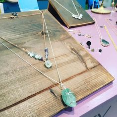 Gorgeous pieces from @prettyflamingosvintage in store. #RoseGold #Handmade #Independent