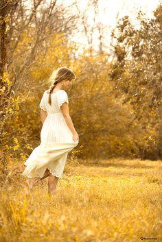 field of gold - Model Lauren Inmon Photographer: Me