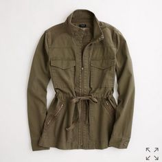 J.Crew Military Jacket Size Small