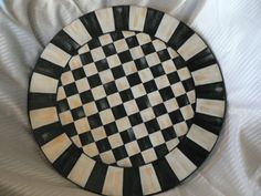 Hand Painted Lazy Susan - 15-1/2 inch