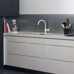 BerryAlloc Kitchen Wall Aluminium Berry Alloc, Cladding, Double Vanity, Backsplash, Tiles, Projects To Try, Kitchen Cabinets, Bathroom, Interior