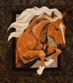 Free Horse Quilt Patterns   Toni Whitney art quilts