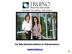 Truino - Planning for your Business by truino via authorSTREAM