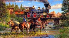 old west train - Google Search