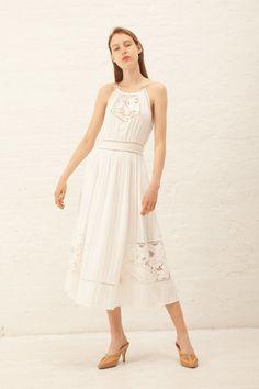 14143c3f045 Ulla Johnson Haina Dress - White on