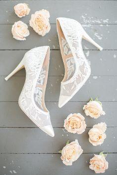 Designer Wedding Shoes, Wedding Shoes Bride, White Wedding Shoes, Wedding Boots, Wedding Shoes Heels, Bride Shoes, Dream Wedding Dresses, Lace Heels, Blue Wedding