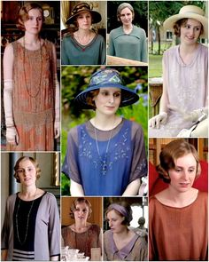 Downton Abbey: Lady Edith outfits in Season 4