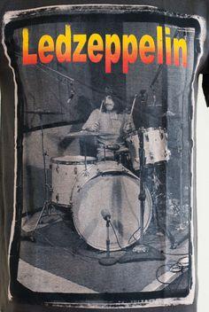 Led Zeppelin Drummer John Bonham T Shirt Unisex by RetroRockShop 422bd862f9cd1