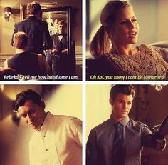Lol I miss the originals. But happy to get Elijah back