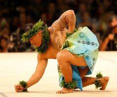 Real men dance hula