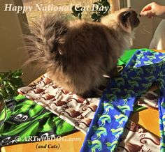 (Off Limits + Leggings) x Stubborn -> Bribery = the other CAT.   Scooter! again ?! … Get off the Table !  Happy National Cat Day !!!  Life would be so dull and unfluffy without them, You're the best Scooter!   Leggings @ ARTwithDOG.com    ~   #NationalCatDay #Cat #Himalayan #Siamese #HimalayanCat #Kitten #Leggings #Skirts #Weekend #furry #Fluffy  #Photoshoot