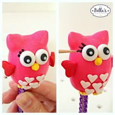 Owl cake pop tutorial. This is a very informative tutorial and those owls are so cute!