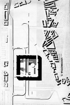 Image result for ROSSI centro direzionale TURIN Architecture Student, Architecture Drawings, Aldo Rossi, Master Plan, How To Plan, Naples, Buildings, Presentation, Illustrations